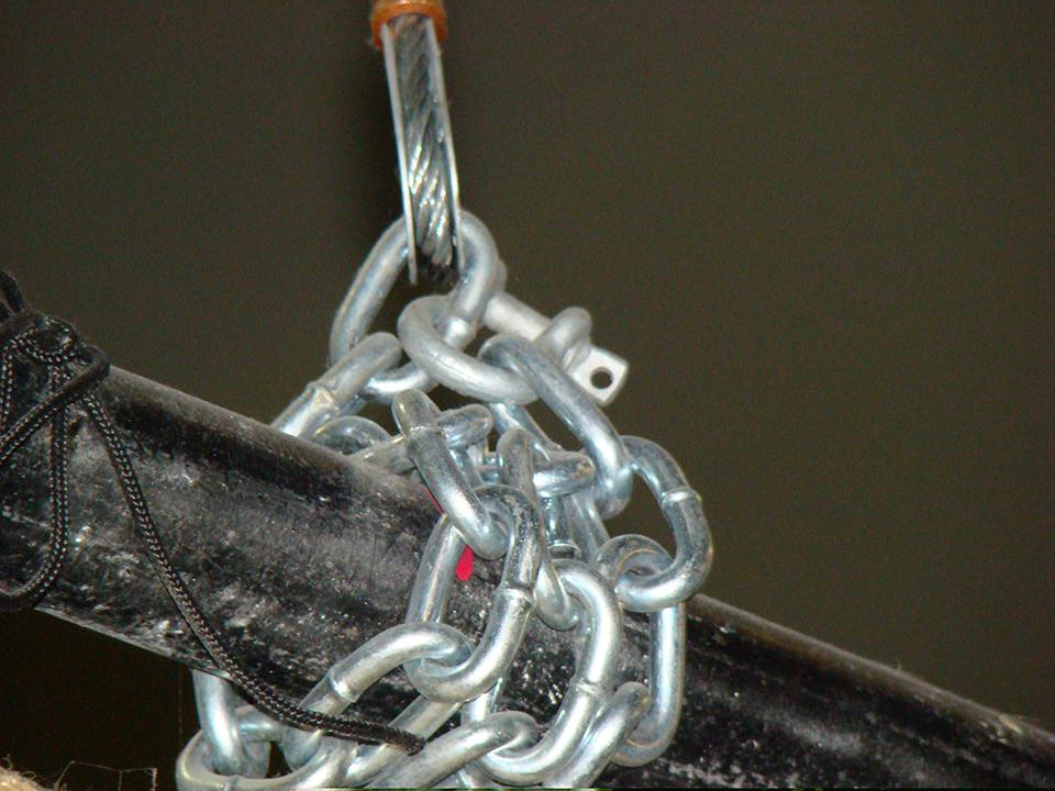 improper rigging techniques